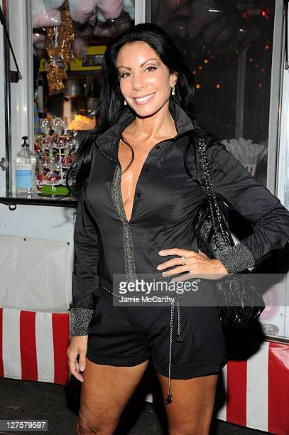 Danielle Staub attends an evening of 'Making The Ordinary Extraordinary' hosted by The Shawn Carter Foundation at Pier 54 on September 29 2011 in New...