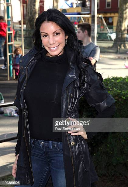 Danielle Staub attends the 2011 'Bark In The Park' charity walk at Church Square Park on October 16 2011 in Hoboken New Jersey