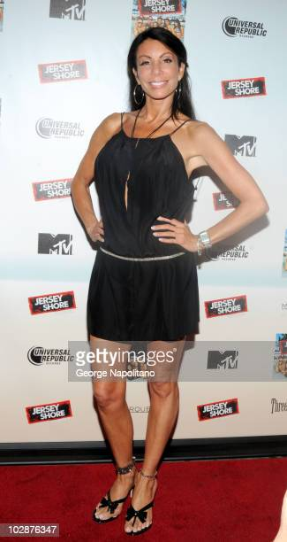 Danielle Staub attends the 'Jersey Shore' album release party at Marquee on July 13 2010 in New York City