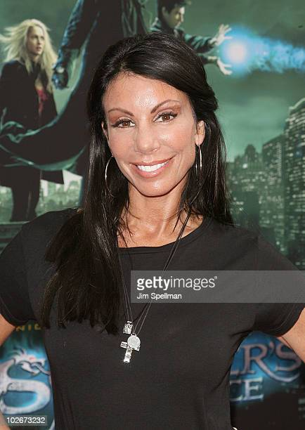 Danielle Staub attends the premiere of 'The Sorcerer's Apprentice' at the New Amsterdam Theatre on July 6 2010 in New York City