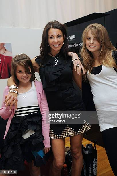 Danielle Staub of The Real Housewifes of New Jersey and her daughters Jillian Staub and Rachelle Hruska attend STYLE360's Rebecca Minkoff Spring 2010...