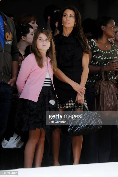 Danielle Staub of The Real Housewives of New Jersey and her daughter Jillian Staub attend STYLE360's Rebecca Minkoff Spring 2010 presentation at the...