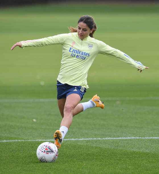 GBR: Arsenal Women Training Session