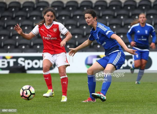 Danielle van de Donk of Arsenal Ladies during Women's Super League 1 Spring Series match between Arsenal Ladies against Birmingham City Ladies at The...