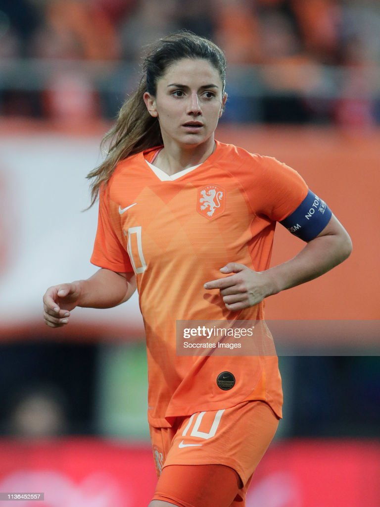 Holland  v Chile  -International Friendly Women : News Photo