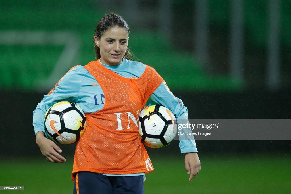 Netherlands Women Football Training