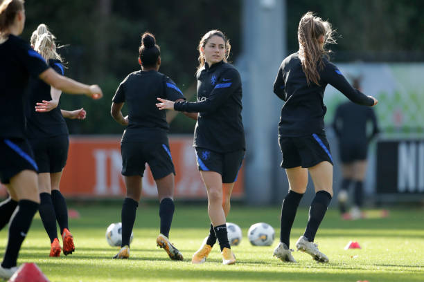 NLD: Netherlands Women Training Session