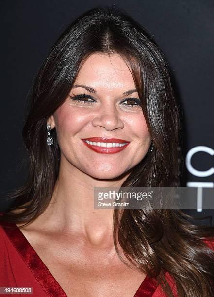 Danielle Vasinova arrives at the Premiere Of Bleecker Street Media's 'Trumbo' at Samuel Goldwyn Theater on October 27 2015 in Beverly Hills California