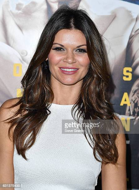 Danielle Vasinova arrives at the Premiere Of Warner Bros Pictures' 'Live By Night' at TCL Chinese Theatre on January 9 2017 in Hollywood California