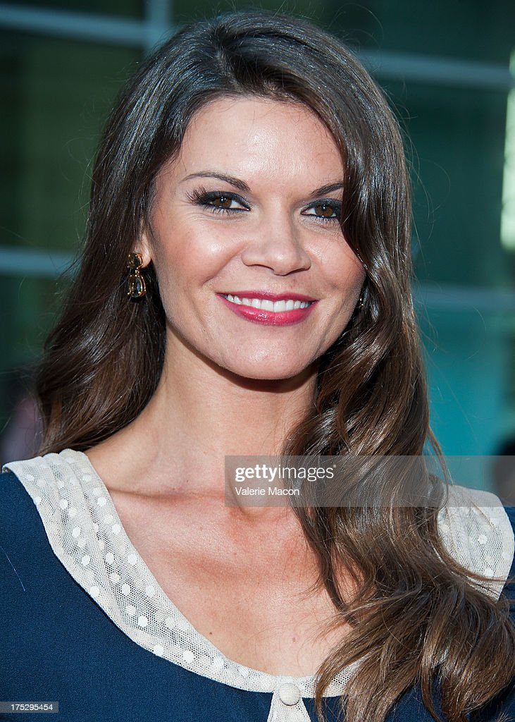 Danielle Vasinova arrives at the Screening Of Magnolia Pictures' 'I Give It A Year' at ArcLight Hollywood on August 1, 2013 in Hollywood, California.