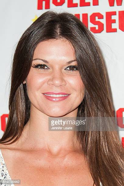 Danielle Vasinova arrives at the The Hollywood Museum and The Hollywood Reporter present 'The Awards' Exhibit at The Hollywood Museum on February 16...