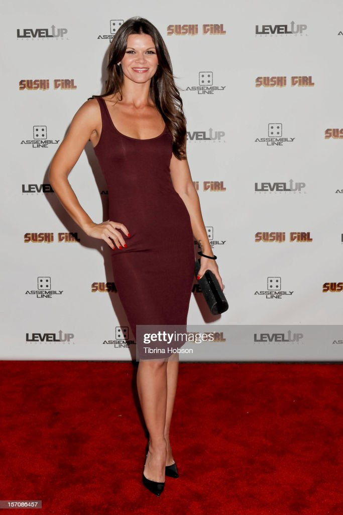 Danielle Vasinova attends the 'Sushi Girl' Los Angeles premiere at Grauman's Chinese Theatre on November 27, 2012 in Hollywood, California.