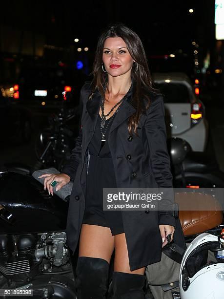Danielle Vasinova is seen on December 17 2015 in Los Angeles California