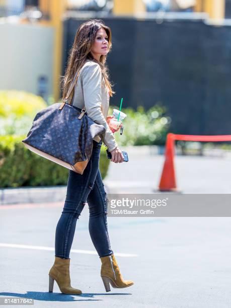 Danielle Vasinova is seen on July 14 2017 in Los Angeles California