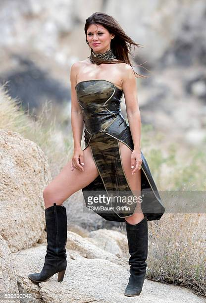 Danielle Vasinova is seen on June 10 2016 in Los Angeles California