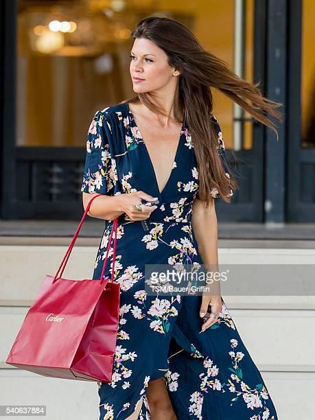 Danielle Vasinova is seen on June 15 2016 in Los Angeles California