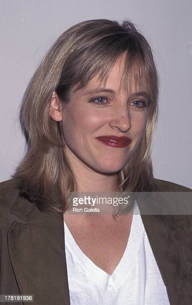 Danielle von Zerneck attends the premiere of Living In Oblivion on July 11 1995 at the Angelika 57 Cinema in New York City