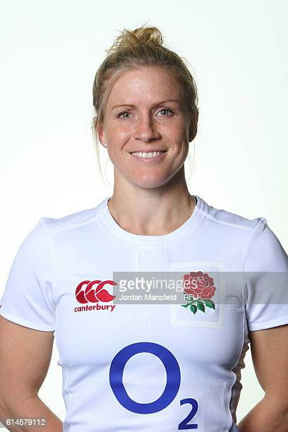 Danielle Waterman of England poses for a portrait at Bisham Abbey on October 11 2016 in Marlow England