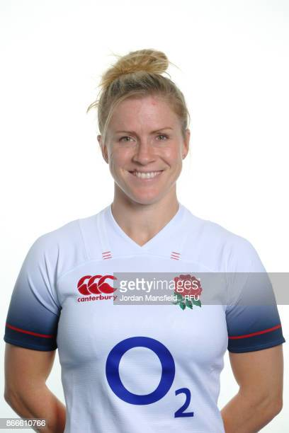 Danielle Waterman of England poses for a portrait at Bisham Abbey on October 15 2017 in Marlow England