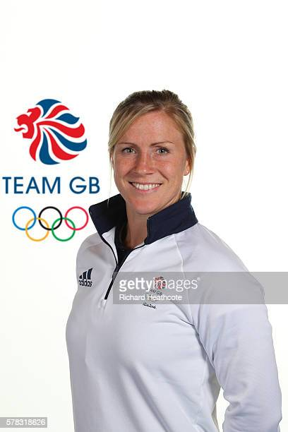 Danielle Waterman poses for a portrait during the Team GB Kitting Out ahead of Rio 2016 Olympic Games on July 7 2016 in Birmingham England