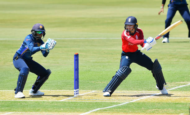 AUS: England v Sri Lanka - Warm Up Match: ICC Women's T20 Cricket World Cup
