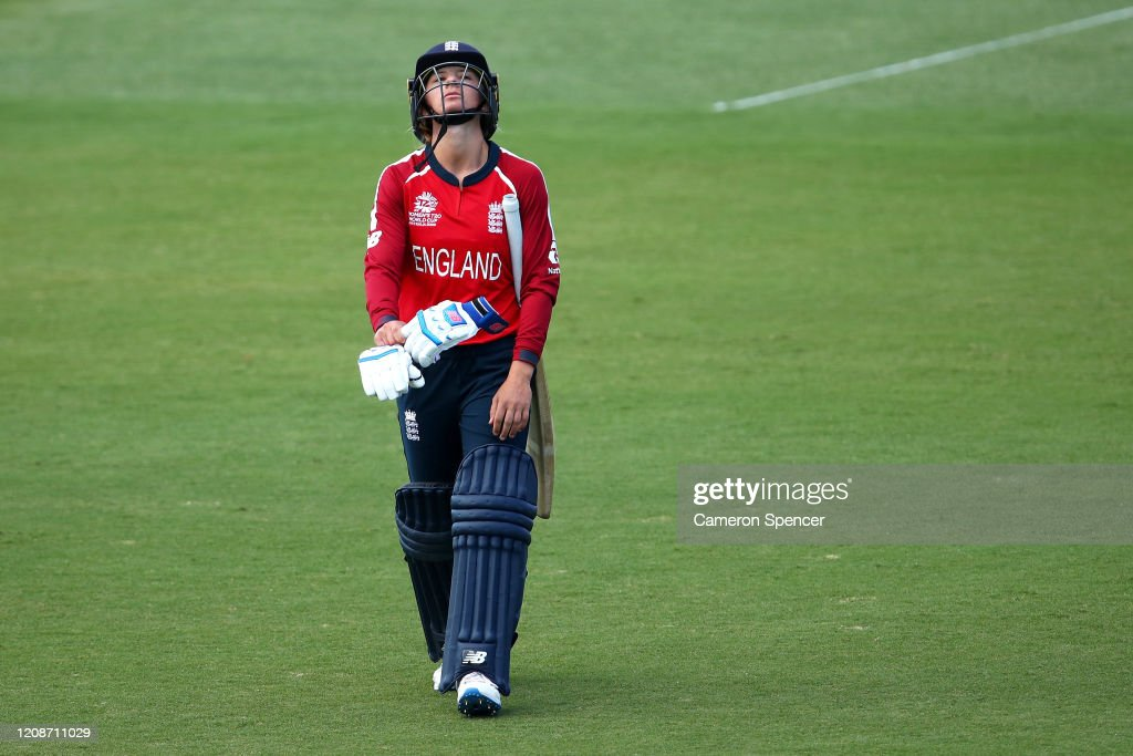England v Thailand - ICC Women's T20 Cricket World Cup : News Photo