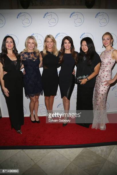 Danielle Yancey Cheryl Casone Ainsley Earhardt Kimberly Guilfoyle Susan Shin and Luiza Petre attend The New York Society for the Prevention of...