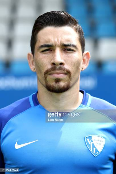 Danielo Soares of VfL Bochum poses during the team presentation at Vonovia Ruhrstadion on July 11 2017 in Bochum Germany