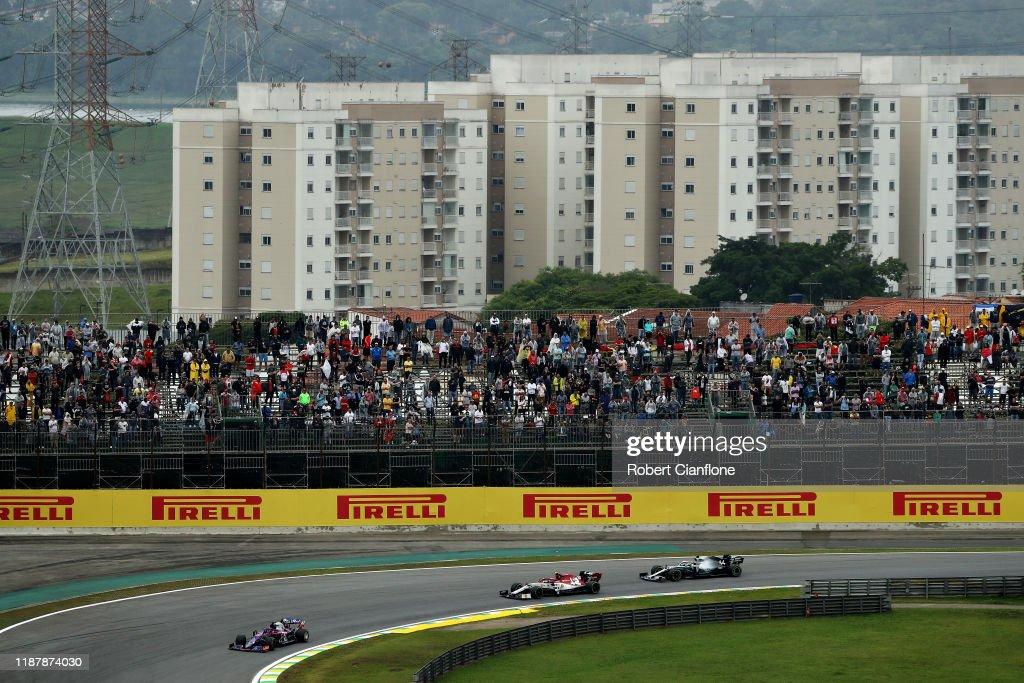F1 Grand Prix of Brazil - Practice : News Photo