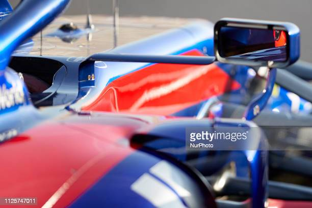 Daniil Kvyat during the winter test days at the Circuit de Catalunya in Montmelo February 18 2019