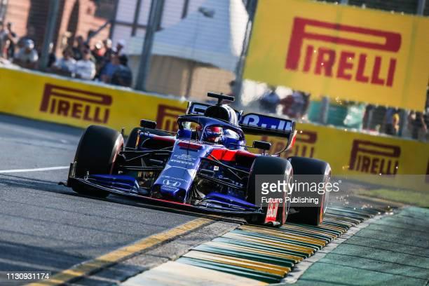 Daniil KVYAT of Red Bull Toro Rosso Honda during qualifying on day 3 of the 2019 Formula 1 Australian Grand Prix