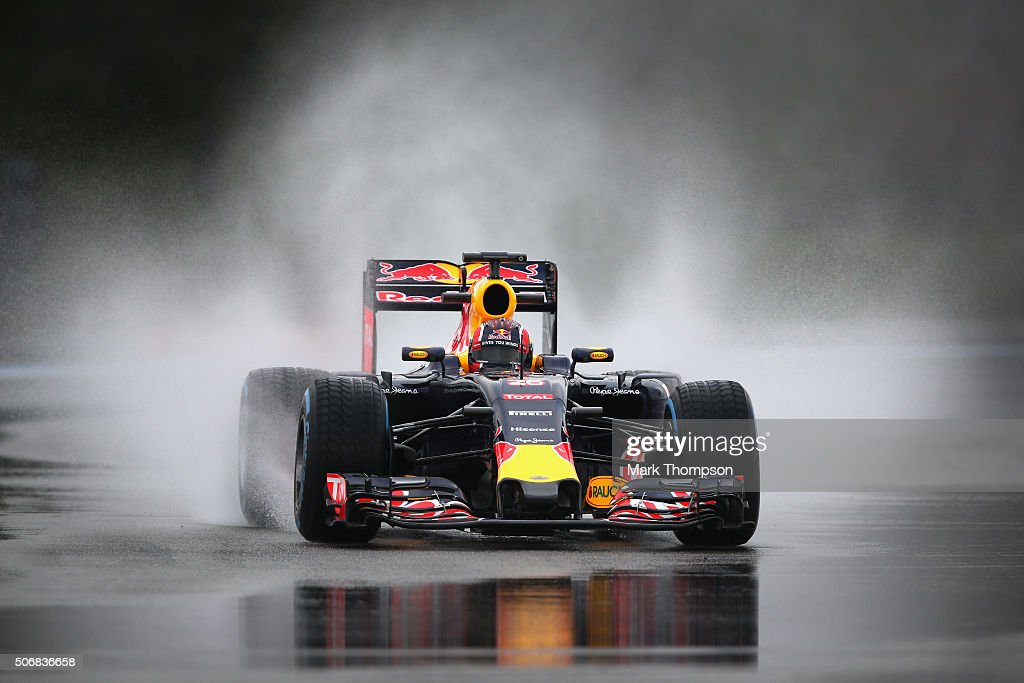 F1 Wet Weather Testing - Day Two