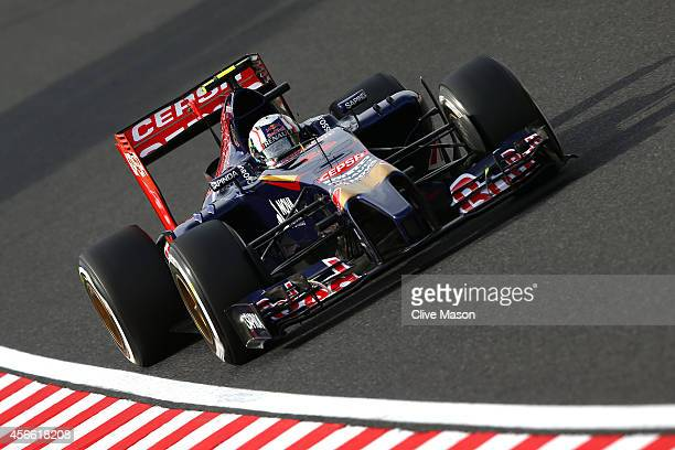 Daniil Kvyat of Russia and Scuderia Toro Rosso drives during Qualifying for the Japanese Formula One Grand Prix at Suzuka Circuit on October 4 2014...