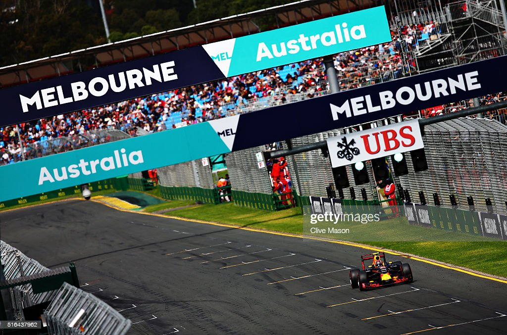 Australian F1 Grand Prix - Qualifying : News Photo