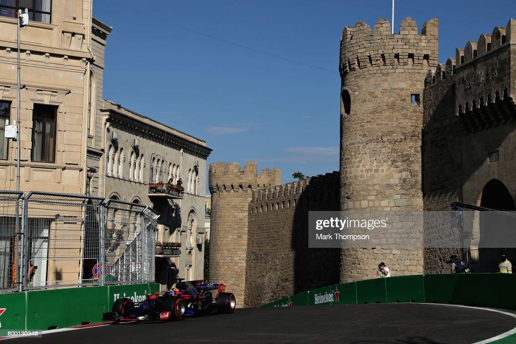 Azerbaijan F1 Grand Prix - Practice : News Photo