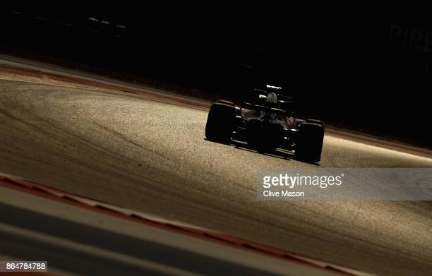 Daniil Kvyat of Russia driving the Scuderia Toro Rosso STR12 on track during qualifying for the United States Formula One Grand Prix at Circuit of...