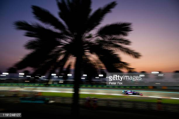 Daniil Kvyat of Scuderia Toro Rosso and Russia during the F1 Grand Prix of Abu Dhabi at Yas Marina Circuit on December 01, 2019 in Abu Dhabi, United...