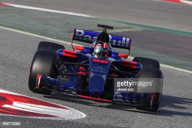 Daniil Kwjat; Scuderia Toro Rosso, formula 1 GP, formula 1 GP, Test Spanien, Barcelona.