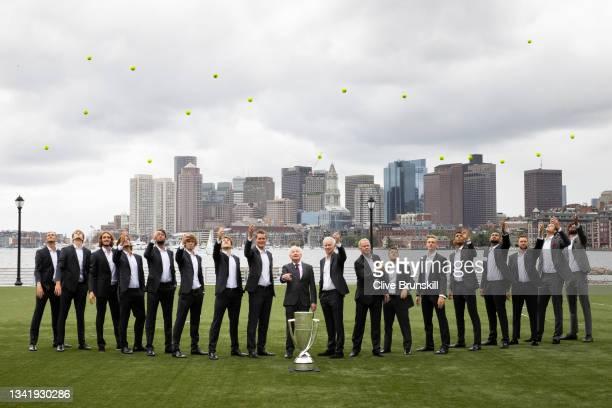 Daniil Medvedev, Alexander Zverev, Stefanos Tsitsipas, alternate player Feliciano Lopez, Matteo Berrettini, Andrey Rublev, Casper Ruud, Vice Captain...