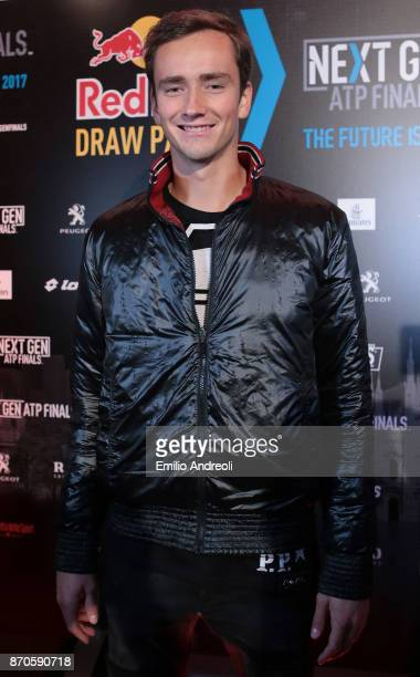 Daniil Medvedev of Russia attends the NextGen ATP Finals Launch Party on November 5 2017 in Milan Italy