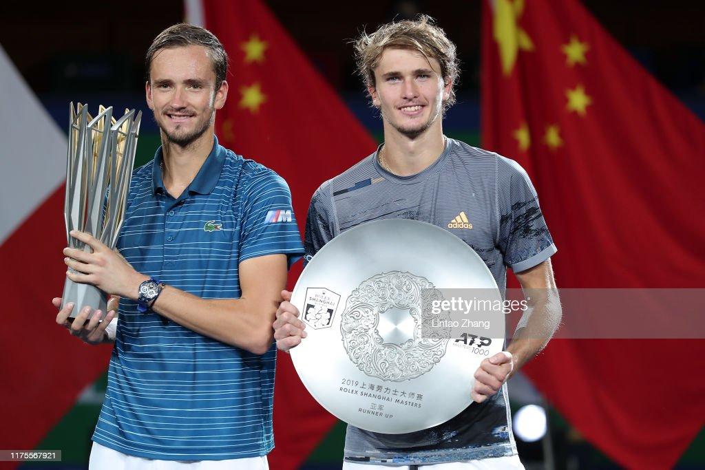2019 Rolex Shanghai Masters - Day 9 (Finals) : ニュース写真