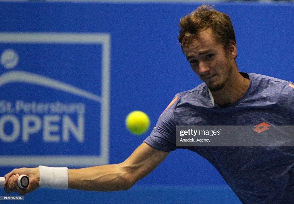 Saint-Petersburg Open Tennis Tournament : News Photo