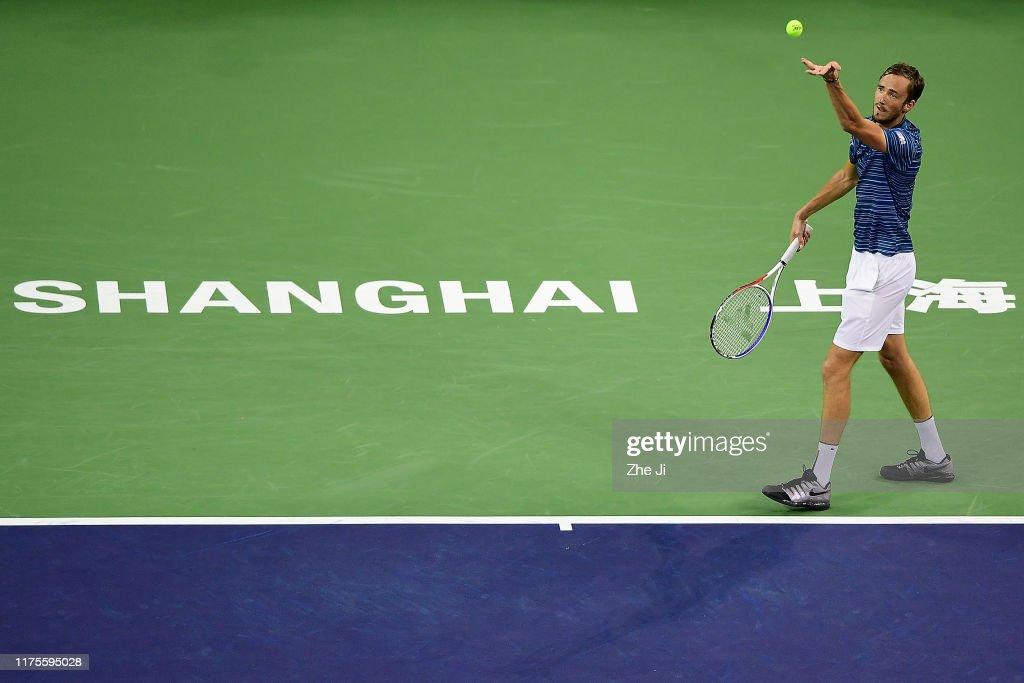 2019 Rolex Shanghai Masters - Day 9 (Finals) : Fotografía de noticias