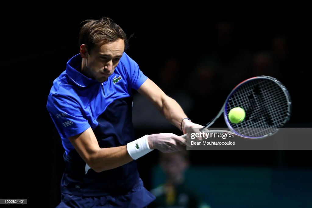 ABN AMRO World Tennis Tournament - Day Five : News Photo