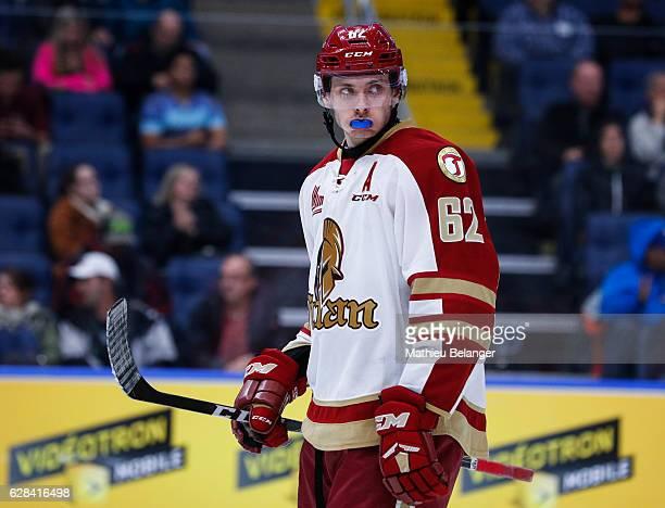 Daniil Miromanov of the Acadie-Bathurst Titan skates during his QMJHL hockey game at the Centre Videotron on November 9, 2016 in Quebec City, Quebec,...