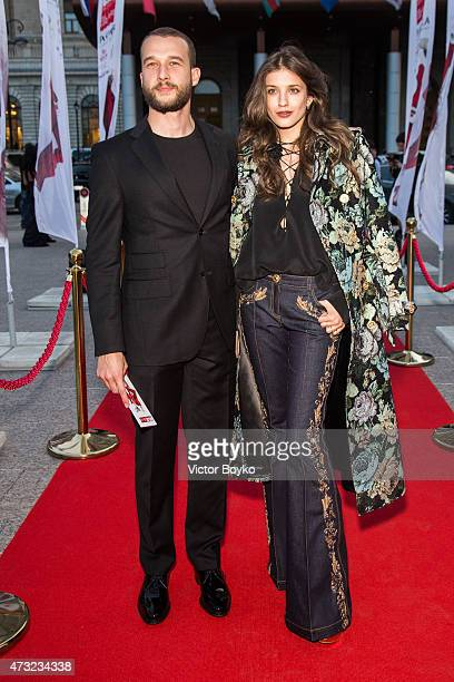 Daniil Sergeev Anna Chipovskaya attend the Hello The Most Stylish ceremony on May 13 2015 in Moscow Russia