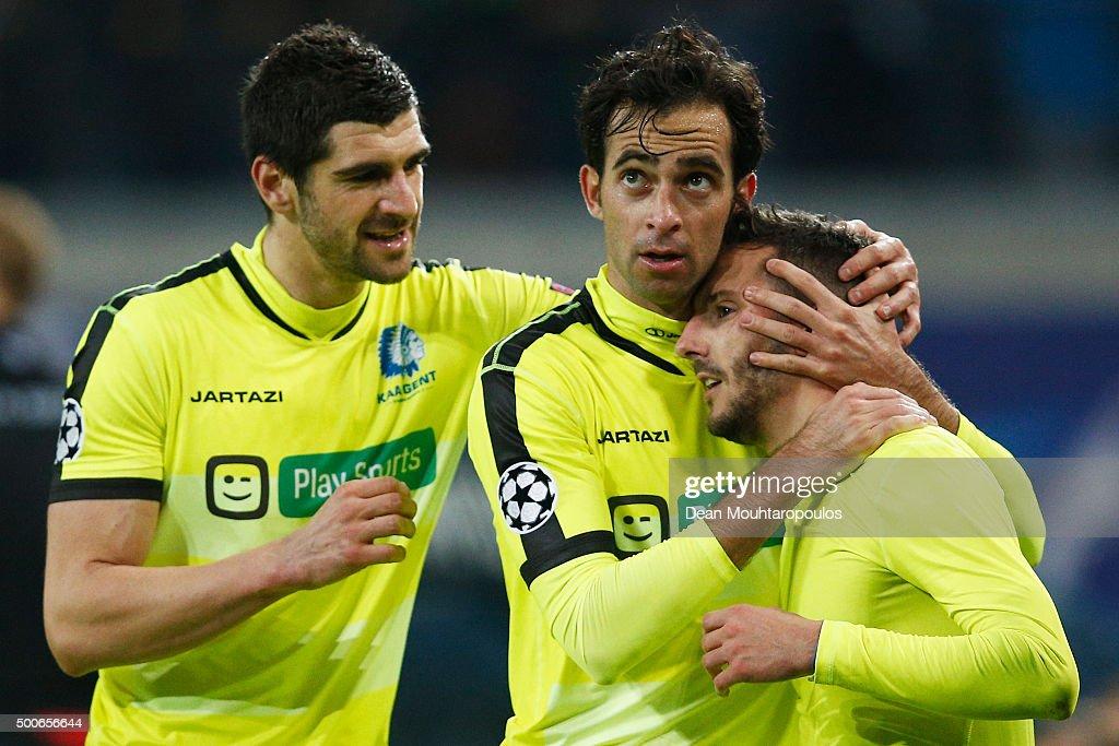 KAA Gent v FC Zenit - UEFA Champions League : News Photo