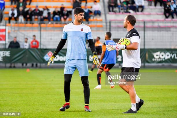 Danijel Petkovic of Lorient during the French Ligue 2 match between Red star and Lorient at Stade Pierre Brisson on September 14 2018 in Beauvais...