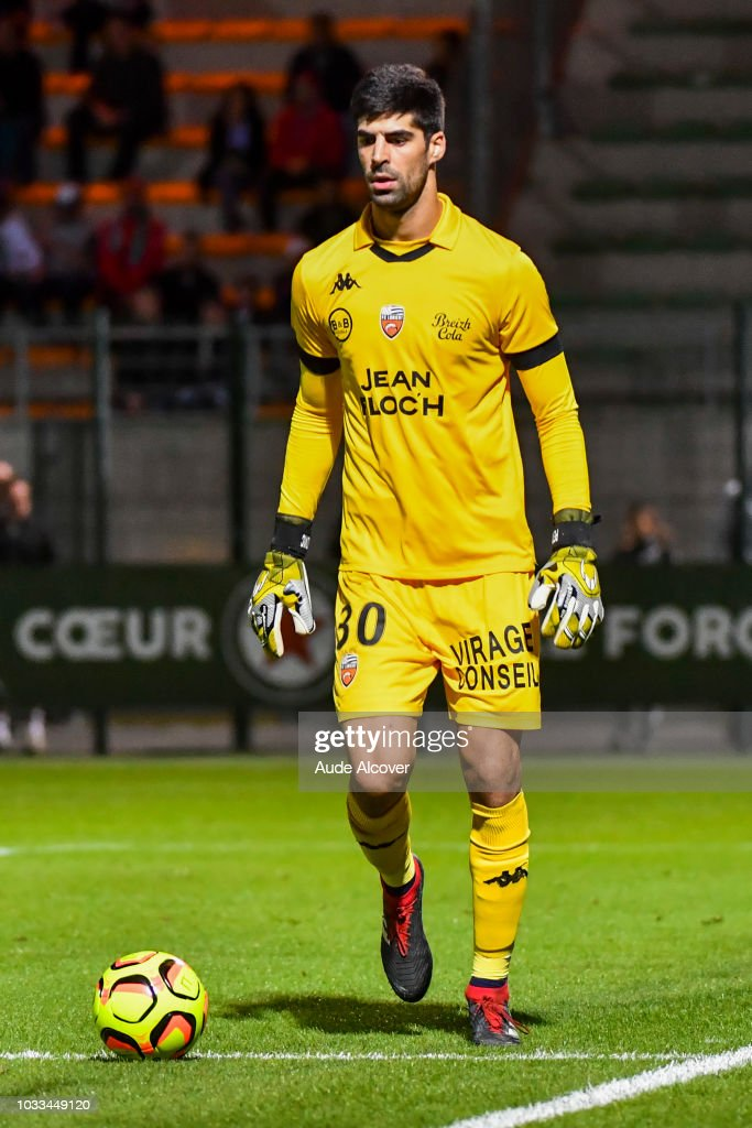 Danijel Petkovic of Lorient during the French Ligue 2 match between Red star and Lorient at Stade Pierre Brisson on September 14, 2018 in Beauvais, France.