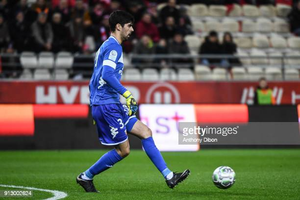 Danijel Petkovic of Lorient during the Ligue 2 match between Reims and Lorient on January 29 2018 in Reims France